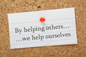Helping others help yourself