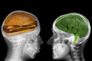 Bad brain foods